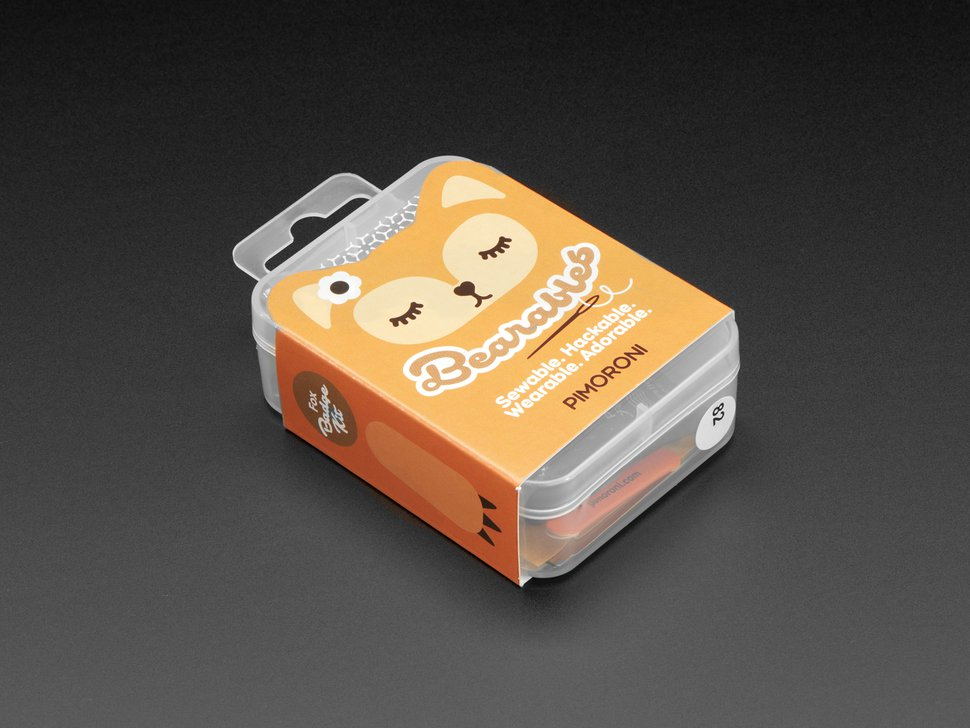 Pimoroni 베어레블스 곰 키트 / Pimoroni Bearables Bear Kit[3745]